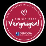 Dehoga Siegel: ein sicheres Vergnügen!